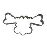 Elchkopf Elch Rudolph 6cm Ausstecher Ausstechform Edelstahl