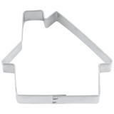 Haus Hütte 7cm Ausstecher Ausstechform Weißblech