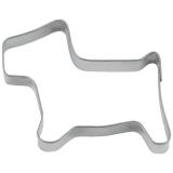 Hund mini 5,5cm Ausstechform Ausstecher Weißblech