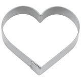 Herz mini 3cm Ausstechform Ausstecher Weißblech
