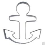 Anker Schiff Schifffahrt 9cm Ausstechform Ausstecher Edelstahl