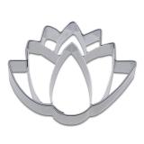 Lotusblüte 6cm Ausstechform Ausstecher Edelstahl