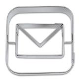 appCutter Mail Briefumschlag 5cm Ausstechform Ausstecher
