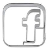 appCutter Friends Facebook 5cm Ausstechform Ausstecher
