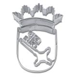 Bremer Wappen 10cm Edelstahl Ausstechform Ausstecher