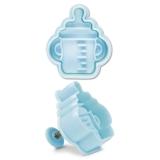 Babyflasche 5cm KunststoffPräge- Ausstechform mit Auswerfer Auss