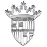 Barcelona Wappen 9cm Edelstahl Ausstechform Ausstecher