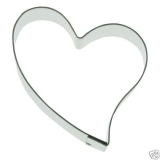 Herz 5,5cm Heart Herzchen Ausstechform Ausstecher Edelstahl