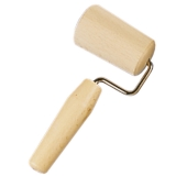 Backblechrolle Wellholz Rollholz, Holz 6,5 cm
