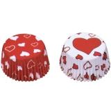 Papierbackförmchen Muffinbackförmchen Muffinpapierbackform Herz