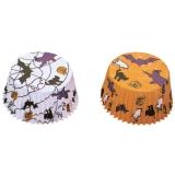 Papierbackförmchen Muffinbackförmchen Halloween AUSLAUF