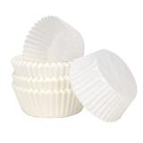 Papierbackförmchen Muffinbackförmchen Muffinpapierbackform weiß