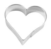 Herz 6,5cm 10x Heart Herzchen Ausstechform Ausstecher