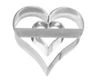 Herz 6cm 10x Heart Herzchen Ausstechform Ausstecher