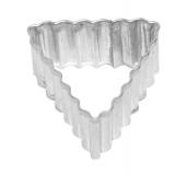 Dreieck, gerippt 3,5 cm 10x Ausstechform Ausstecher