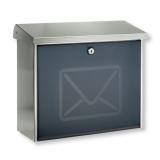 Briefkasten Postkasten Edelstahl