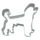 Hund Pudel 8,5cm Ausstechform Ausstecher Edelstahl
