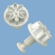 Dekorationsstempel Ausstechform Modellierform 2er Set Blume