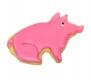 Schwein Glücksschwein 8,5cm 10x Ausstechform Ausstecher
