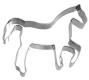Pferd in Piaffe 11 cm 10x Ausstechform Ausstecher