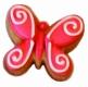 Schmetterling 6cm 10x Ausstechform Ausstecher