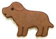 Hund Dog Chien 6,5cm 10x Ausstechform Ausstecher