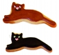 Katze Kater Kätzchen 7cm 10x Ausstechform Ausstecher