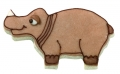 Nashorn Afrika 6,5cm 10x Ausstechform Ausstecher