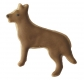 Schäferhund Hund 6,5cm 10x Ausstechform Ausstecher
