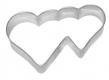 Herzen 8,5cm 10x Herz Herzchen Ausstechform Ausstecher