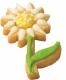 Sonnenblume Blume Blüte 6cm 10x Ausstechform Ausstecher