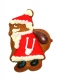 Santa Claus Weihnachtsmann 7,5 cm 10x Ausstechform Aussteche