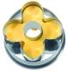 Blume mit Innenloch 5 cm 10x Ausstechform Ausstecher