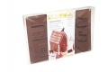 Schokolade / Pralinen Form Hexenhaus 5x