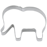 Elefant Afrika Indien 6cm  Ausstecher Ausstechform Edelstahl