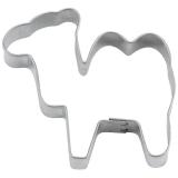 Mini-Kamel 5cm Ausstecher Ausstecherform Weißblech