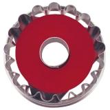 Linzer-Ausstecher mit Auswerfer Ringerl  ø 4,8 cm