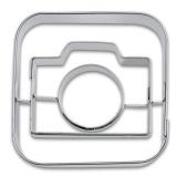 appCutter Camera Handy Foto 5cm Ausstechform Ausstecher