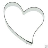 Herz 9,5cm Heart Herzchen Ausstechform Ausstecher Edelstahl