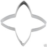 Zimtstern Stern 4-zackig 7cm Ausstechform Ausstecher Weißblech