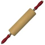 Wellholz Teigrolle Rollholz aus Buche Ø 8,5cm Länge: 40 cm