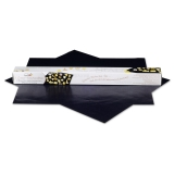 Silikon-Unterlage Backmatte Dauerbackfolie 2er Set 33 x 40 cm