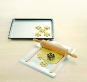 Backmatte Ausrollmatte mit Glasfasergewebe 4x 33x40cm