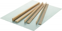 Ausroll-Hölzer 5x Höhen 3, 5 und 10 mm