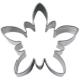 Edelweiß Blume Blüte 4,5cm Ausstechform Ausstecher Weißblech