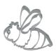 Biene Wespe Hummel 7cm Ausstechform Ausstecher Edelstahl