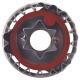 Linzer-Ausstecher mit Auswerfer Stern  ø 4,8 cm