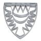 Kieler Wappen 10cm Edelstahl Ausstechform Ausstecher