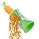 Gefu Spirelli Spiralschneider grün