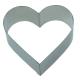 Ring Dessertring Speisering Vorspeisenring 6x Herz Herzchen